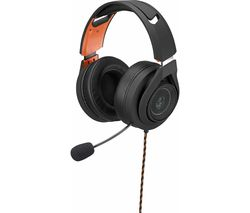 ADX AFSH0419 7.1 Gaming Headset - Black & Orange