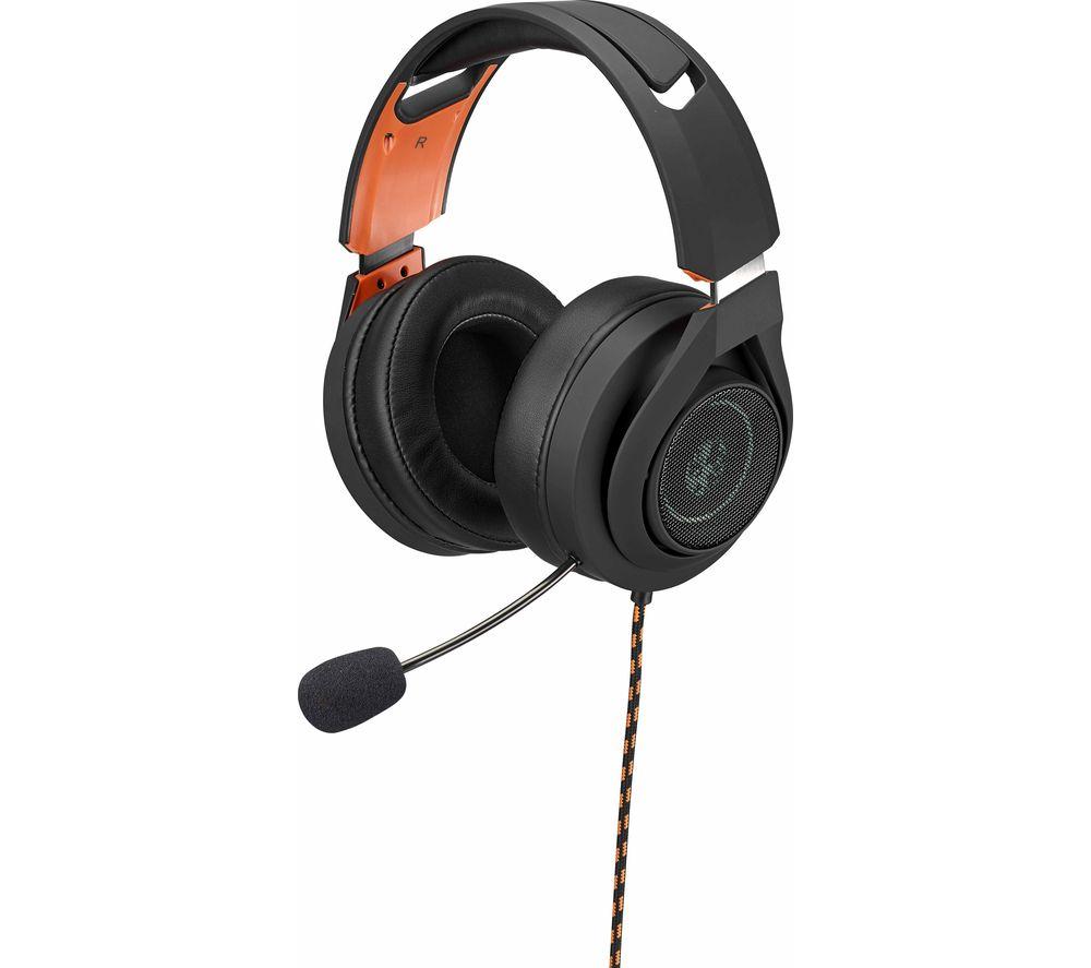 ADX AFSH0419 7.1 Gaming Headset - Black & Orange