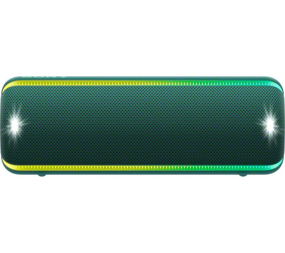 SONY EXTRA BASS SRS-XB32 Portable Bluetooth Speaker - Green, Green