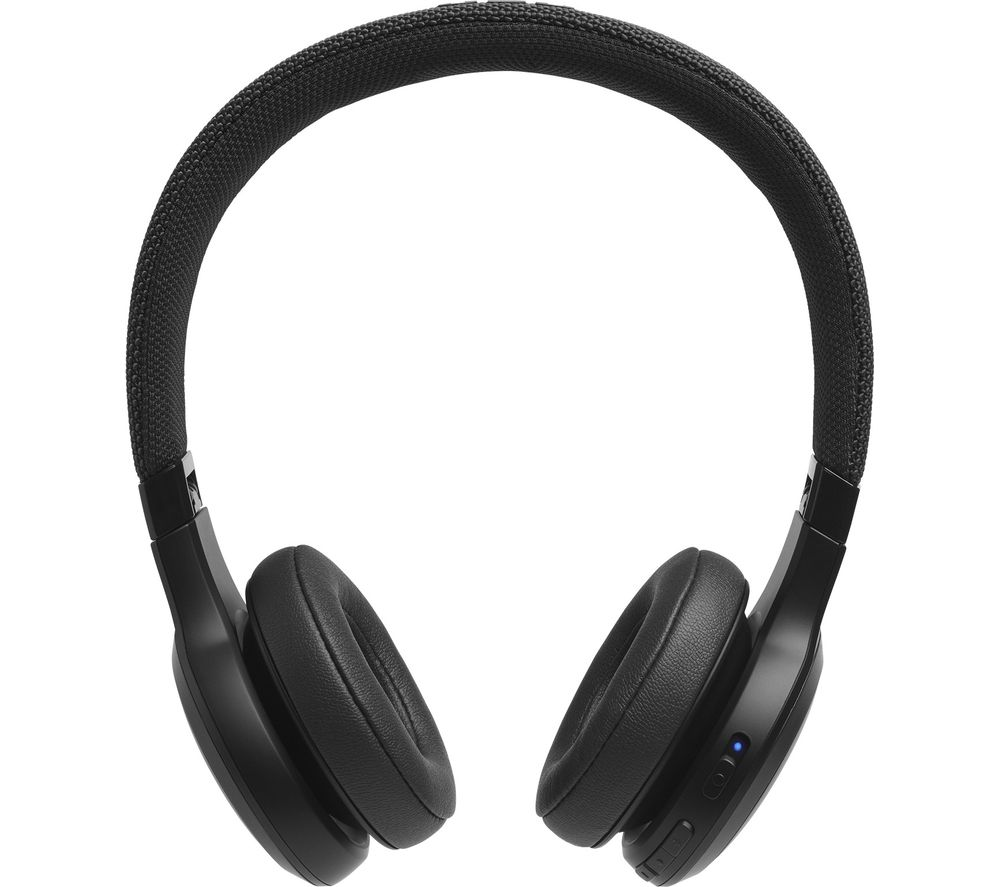 JBL LIVE 400BT Wireless Bluetooth Headphones - Black
