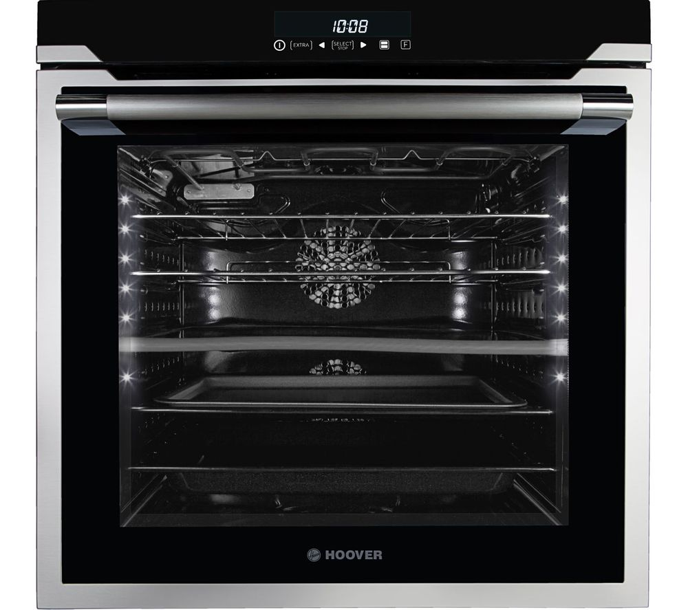HOAZ8673 IN/E Electric Oven - Black & Stainless Steel, Stainless Steel