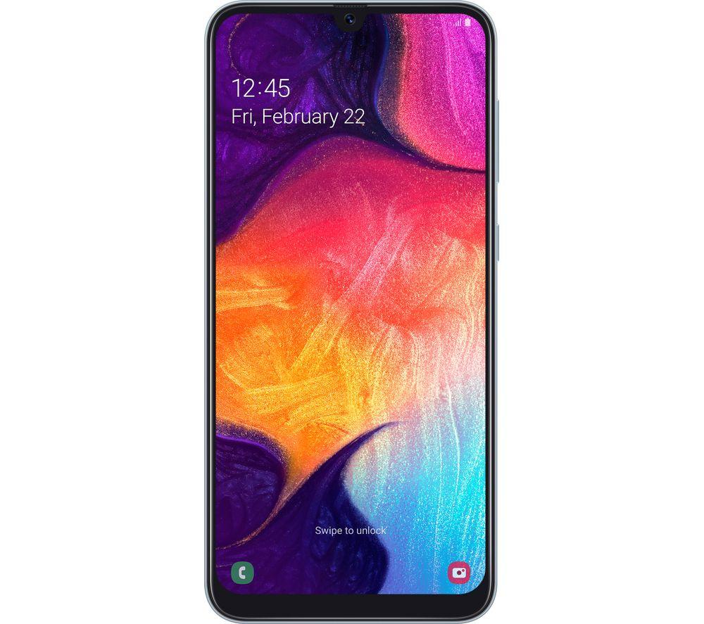 SAMSUNG Galaxy A40 - 64 GB, White