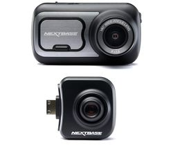 NEXTBASE 422GW Dash Cam with Amazon Alexa & Cabin View Dash Cam Bundle