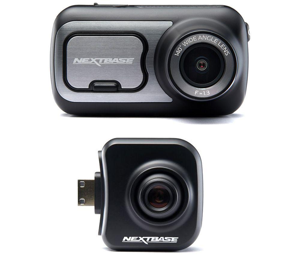 Image of NEXTBASE 422GW Quad HD Dash Cam with Amazon Alexa & Cabin View Quad HD Dash Cam Bundle