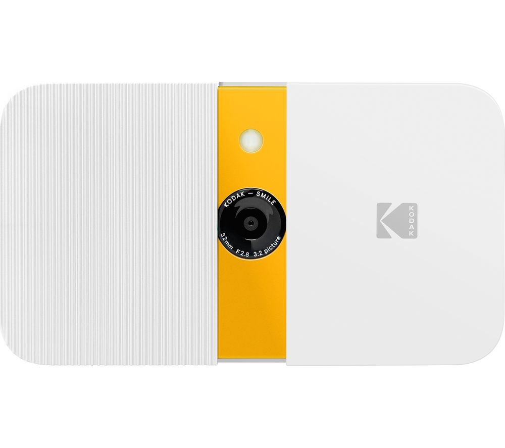 Click to view product details and reviews for Kodak Smile Digital Instant Camera White Yellow White.