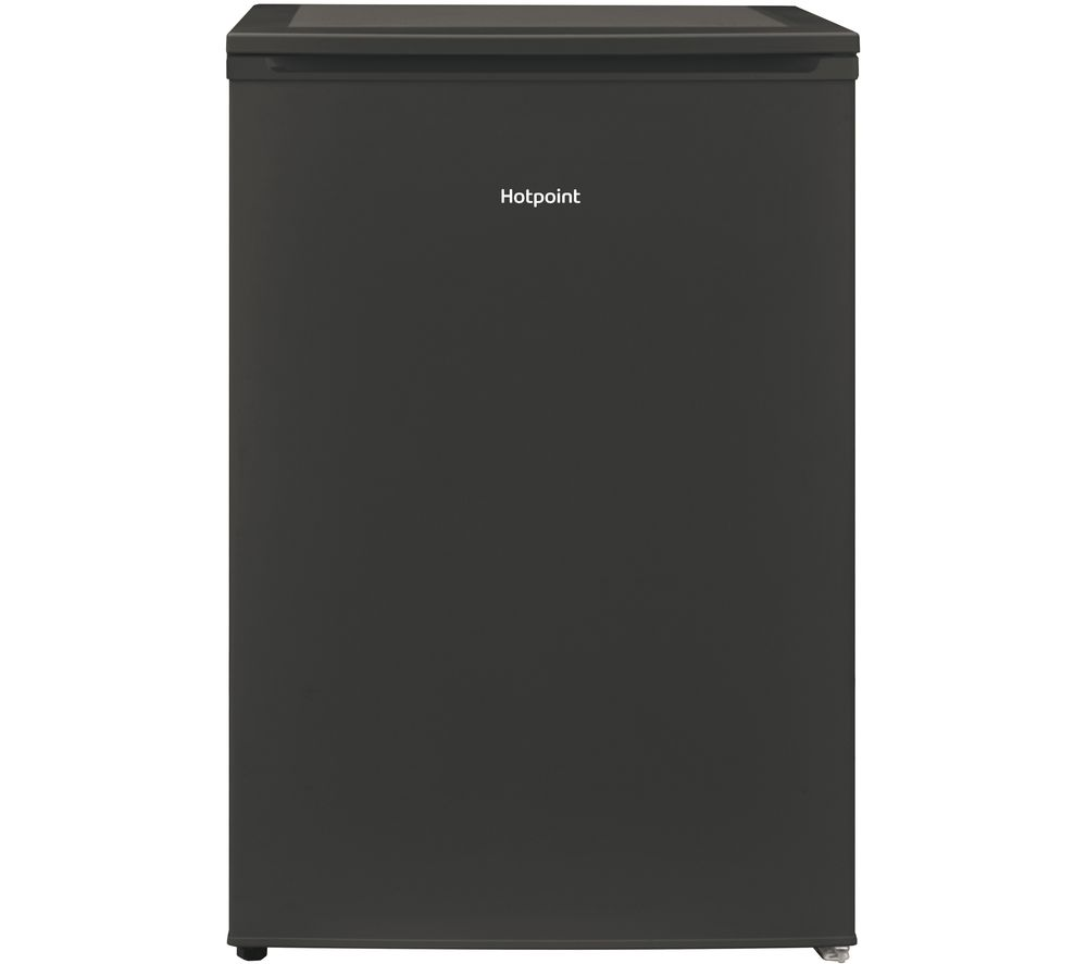 HOTPOINT H55RM 1110 K UK Undercounter Fridge - Black, Black