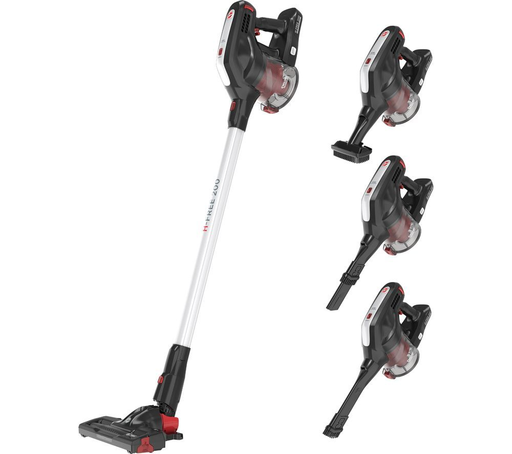 H-FREE 200 Home HF222RH Cordless Vacuum Cleaner - Silver, Silver