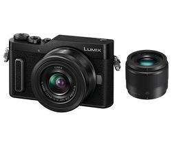 Lumix DC-GX880 Mirrorless Camera with G Vario 12-32 mm f/3.5-5.6 Asph. Mega O.I.S. & 25 mm f/1.7 Asph. Lens - Black