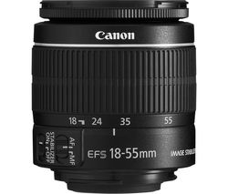 EF-S 18-55 mm f/3.5-5.6 IS II USM Standard Zoom Lens