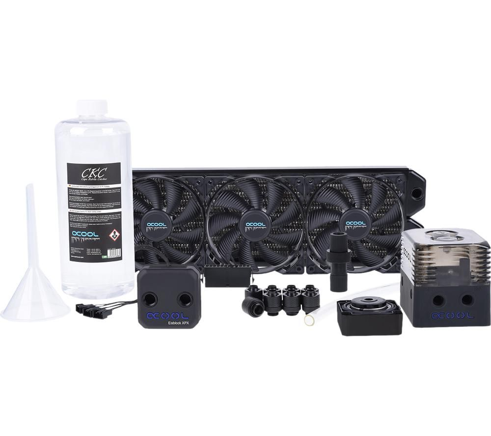 ALPHACOOL Eissturm Gaming Copper 30 Water Cooling Kit - 3 x 120 mm