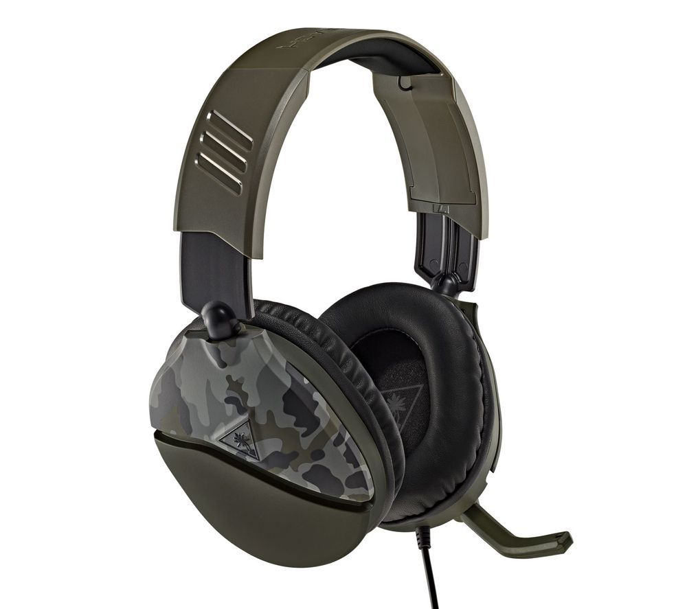 TURTLE BEACH Recon 70 Gaming Headset - Green Camo