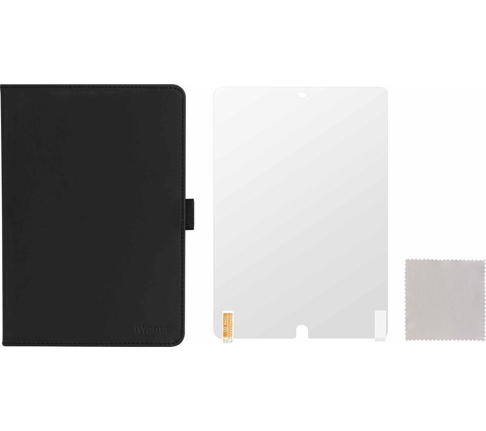 """IWANTIT IPP10SK20 iPad Air 10.5"""" & iPad 10.2"""" Starter Kit - Black"""