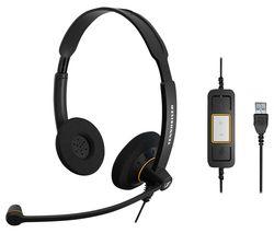 Impact SC 60 USB ML Headset - Black & Orange