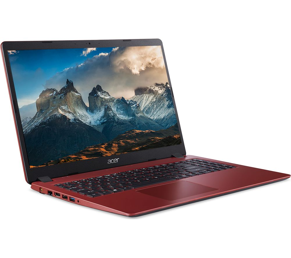 "ACER Aspire 3 15.6"" Laptop - Intel® Core™ i3, 1 TB HDD, Red"