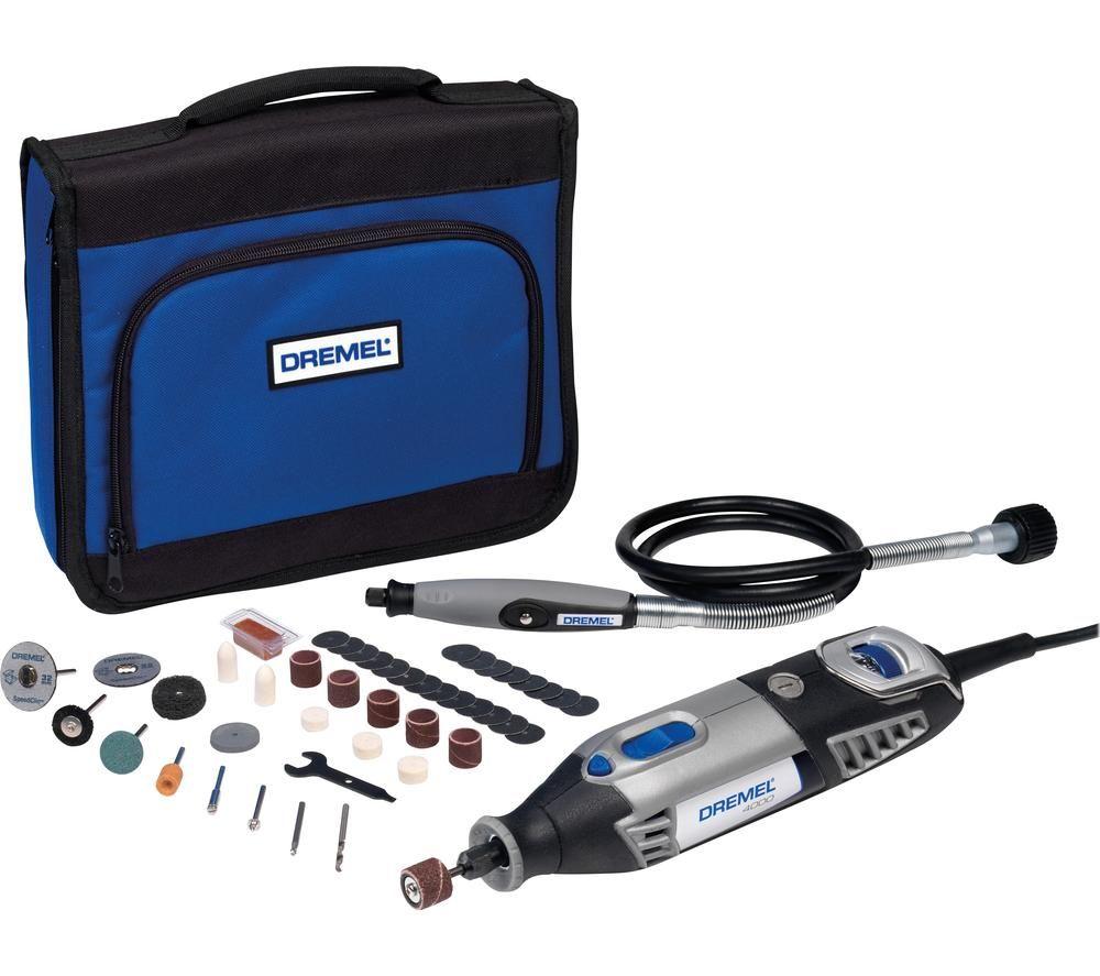 Image of DREMEL 4000-1 45-Piece Multi-Tool Kit - Grey, Grey
