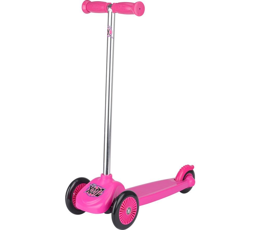 XOOTZ Tri Scooter Mini TY5619 Kick Scooter - Pink