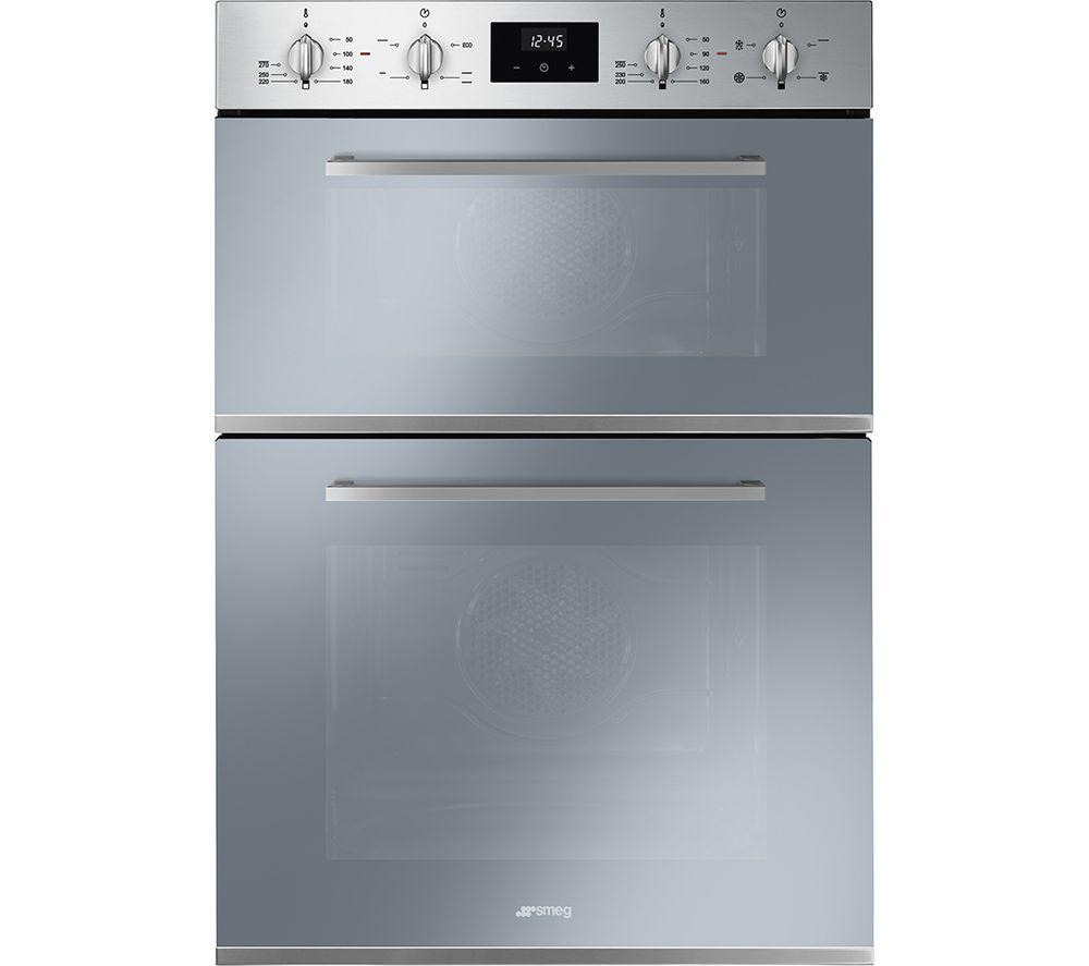 SMEG Cucina DOSF400S Electric Double Oven - Silver