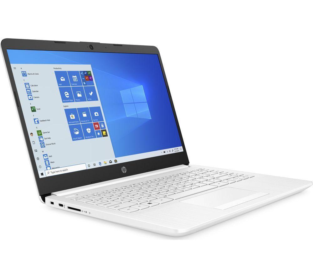 """HP 14-cf2503sa 14"""" Laptop - Intel® Core™ i5, 256 GB SSD, White"""