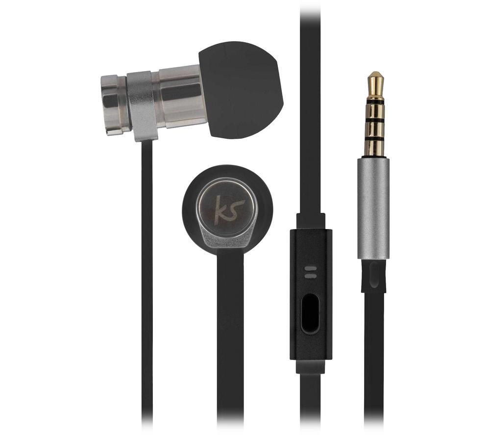 KITSOUND Nova KSNOVBK Earphones - Black, Black