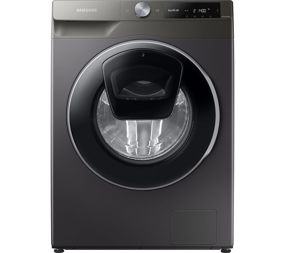 SAMSUNG Series 6 AddWash + Auto Dose WW80T684DLN/S1 WiFi-enabled 8 kg 1400 Spin Washing Machine - Graphite