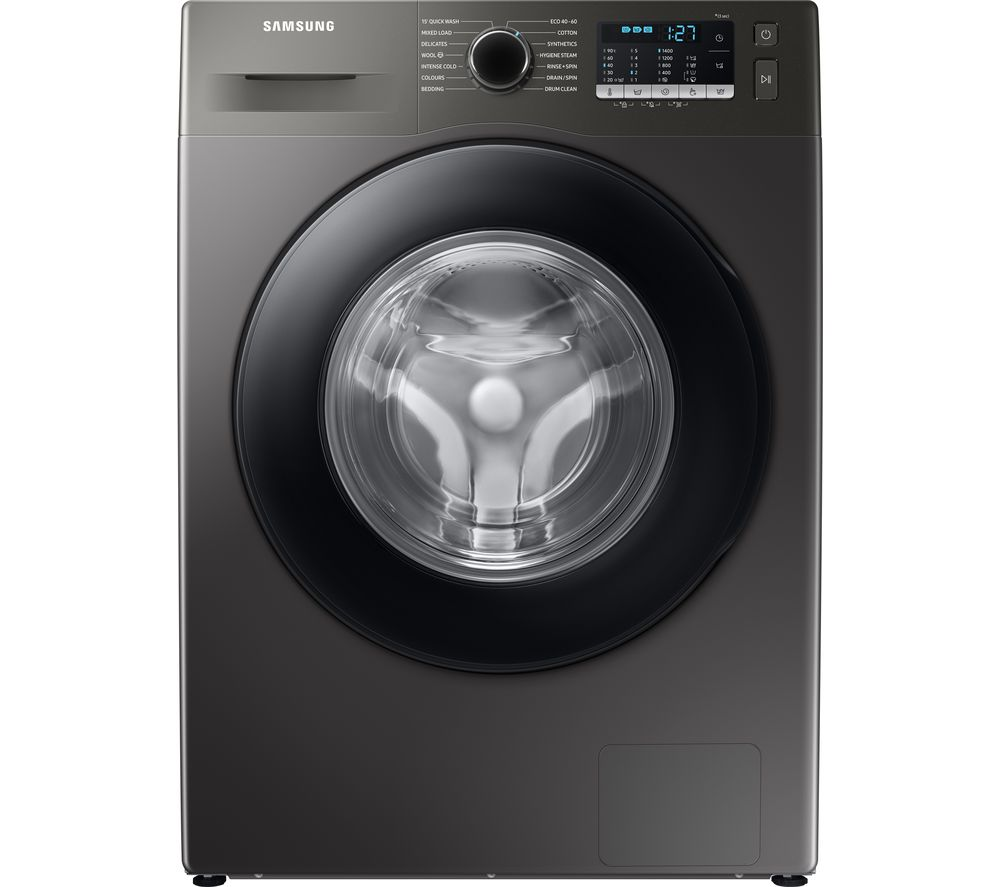SAMSUNG ecobubble WW90TA046AX/EU 9 kg 1400 Spin Washing Machine - Graphite