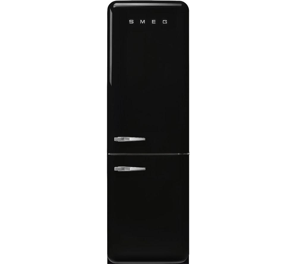 SMEG FAB32LBL5UK 70/30 Fridge Freezer - Black