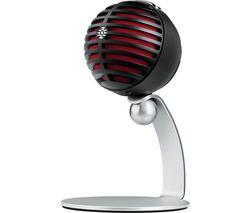 Motiv MV5 Microphone - Black & Silver