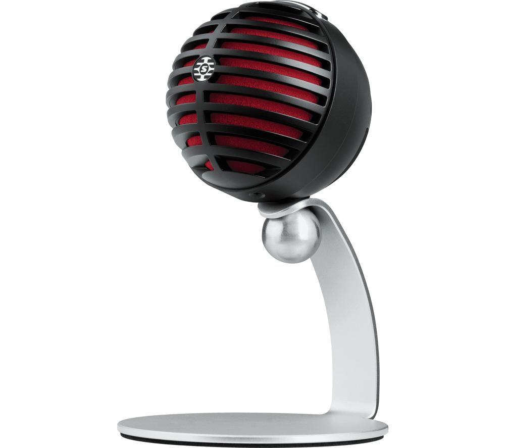 SHURE Motiv MV5 Microphone - Black & Silver