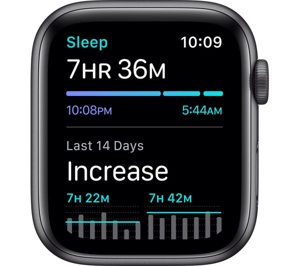 Apple Watch SE - Space Grey Aluminium with Anthracite & Black Nike Sports Band, 40 mm 5