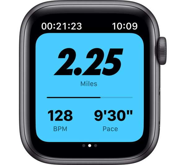 Apple Watch SE - Space Grey Aluminium with Anthracite & Black Nike Sports Band, 40 mm 7