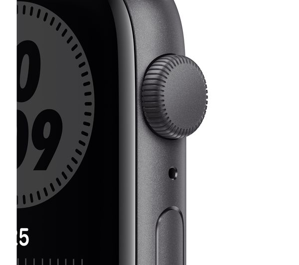 Apple Watch SE - Space Grey Aluminium with Anthracite & Black Nike Sports Band, 40 mm 8