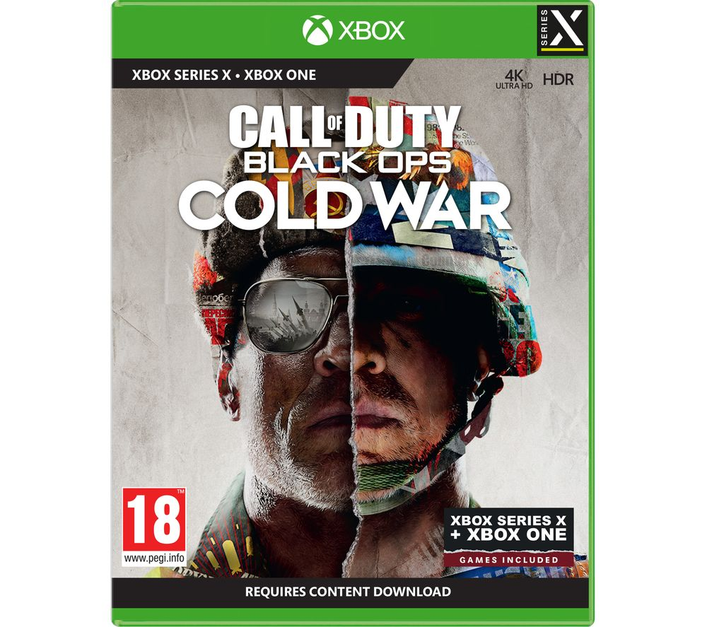 XBOX Call of Duty: Black Ops Cold War, Black