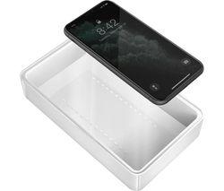 Stera360 UV Sanitizing Box and Wireless Charger - White