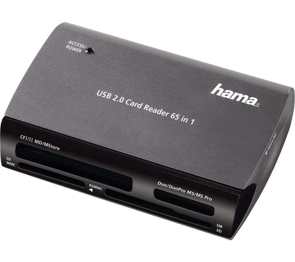 HAMA 65in1 USB 2.0 Multi-Card Reader