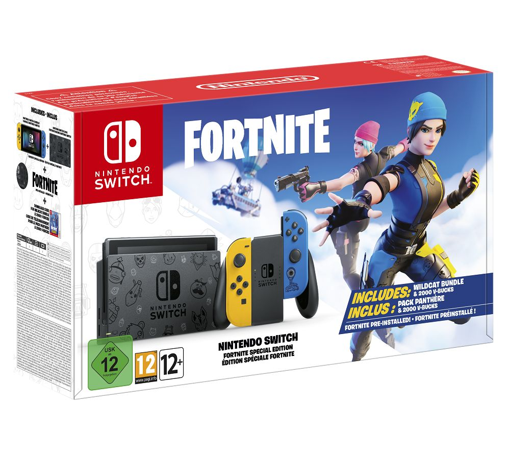 NINTENDO Switch - Fortnite Special Edition