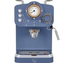 Nordic Pump Espresso SK22110BLUN Coffee Machine - Blue