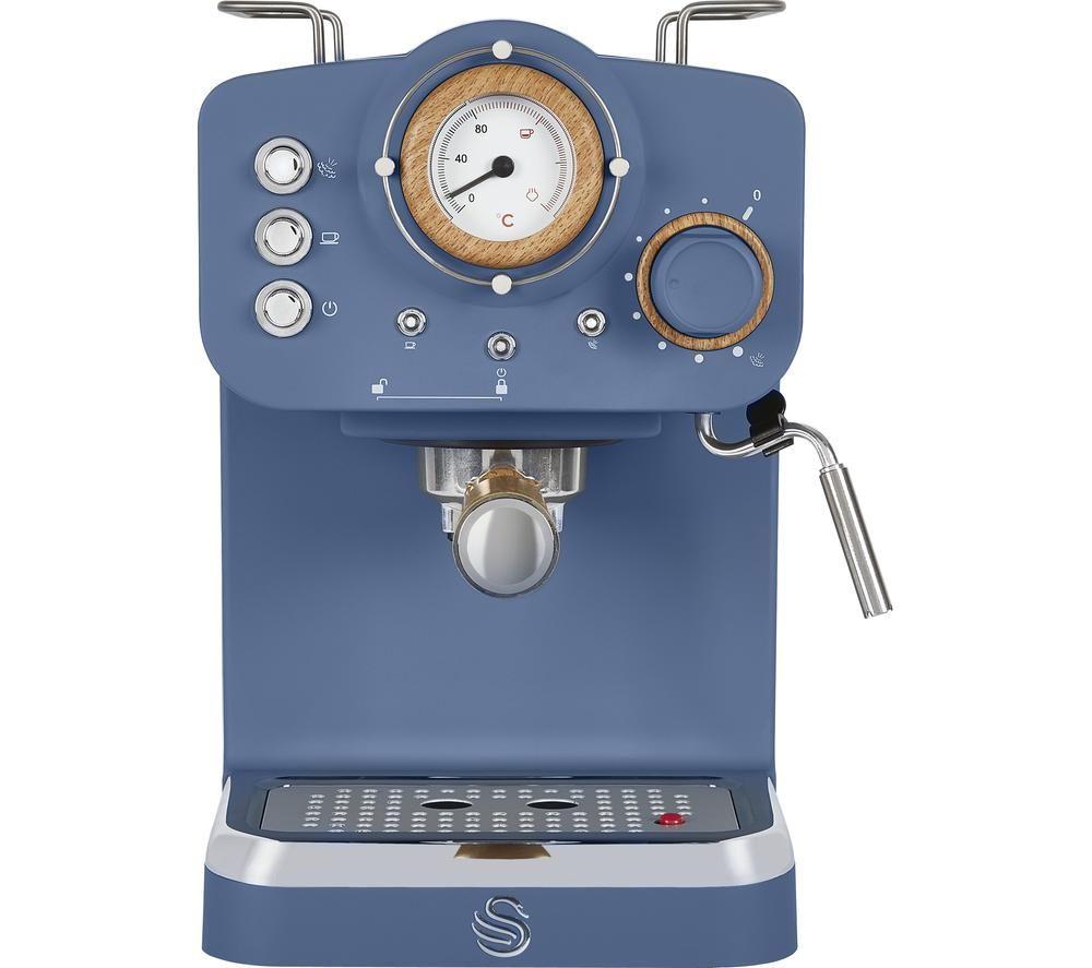 SWAN Nordic Pump Espresso SK22110BLUN Coffee Machine - Blue, Blue