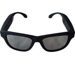 VXSA-BLA Bone Conduction Smart Glasses - Black