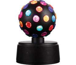 I58058 LED Disco Ball Portable Bluetooth Speaker - Black