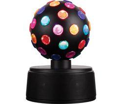 I58058 LED Disco Ball Portable Bluetooth Speaker - Black