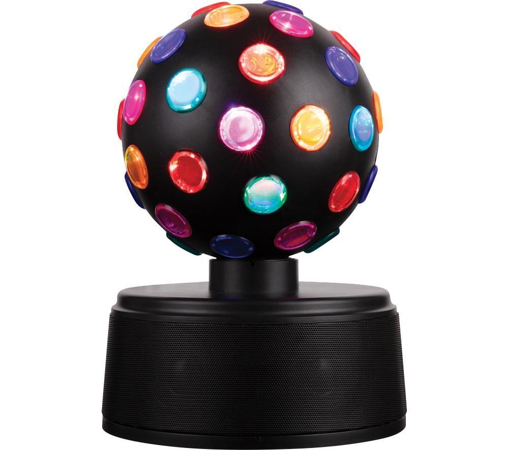 ITEK I58058 LED Disco Ball Portable Bluetooth Speaker - Black