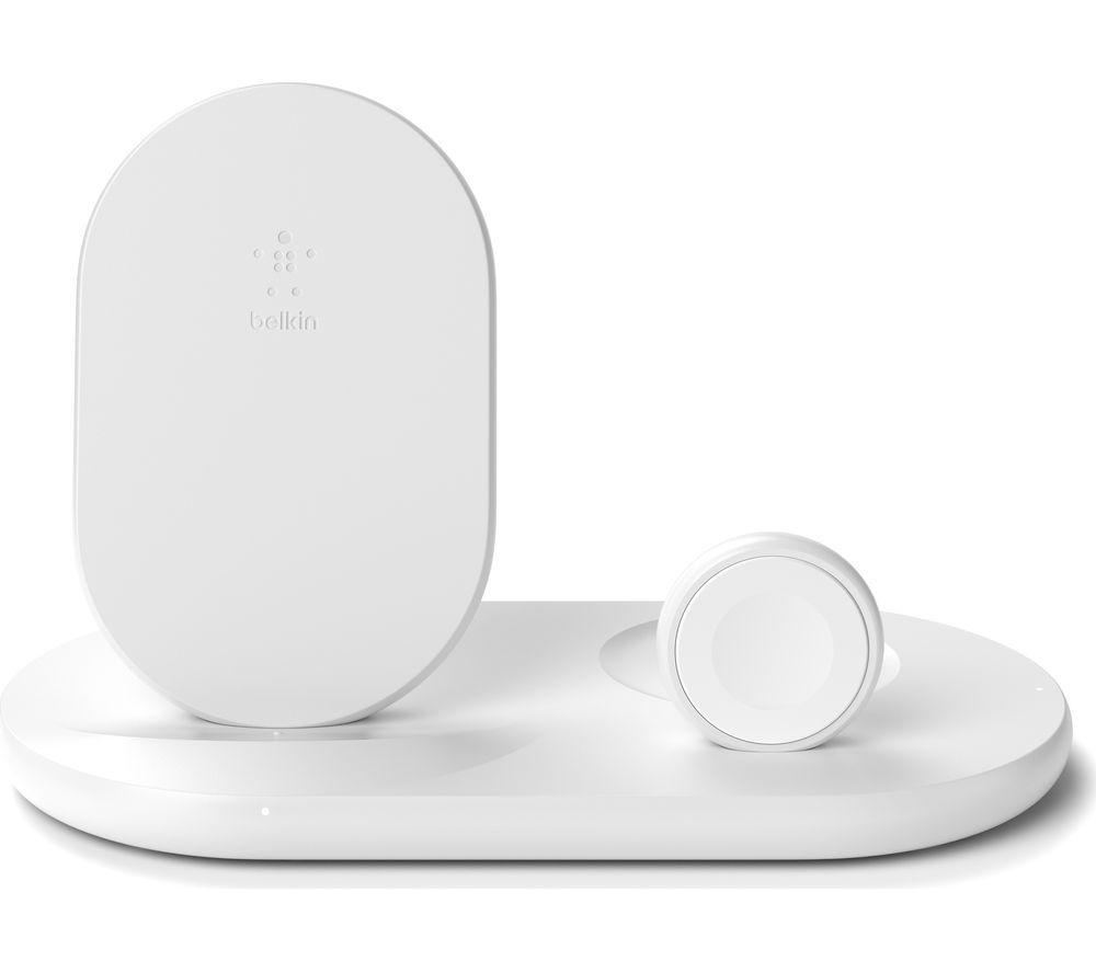 BELKIN Wiz001myWH 3-in-1 Apple Wireless Charger