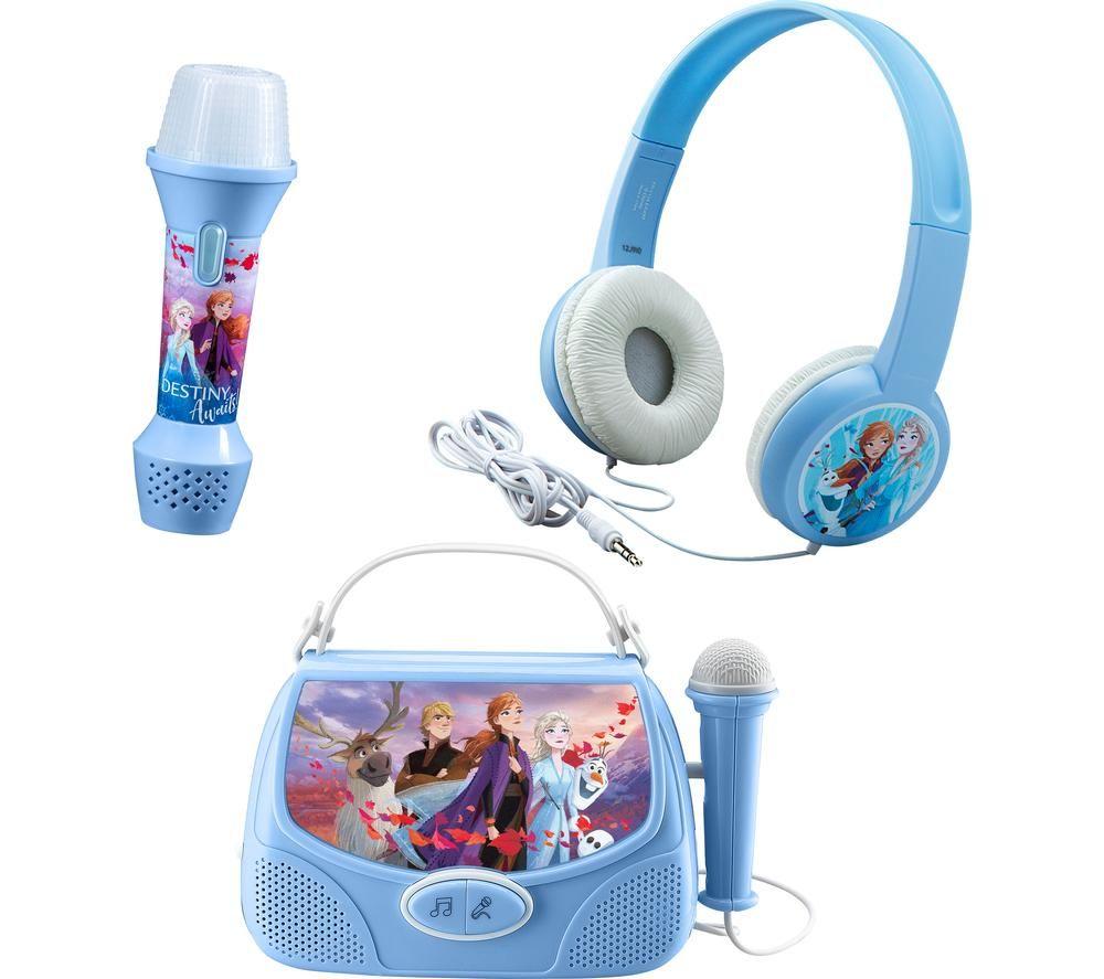 EKIDS Frozen 2 FR-V303 Sing-along Music Set - Blue, Blue