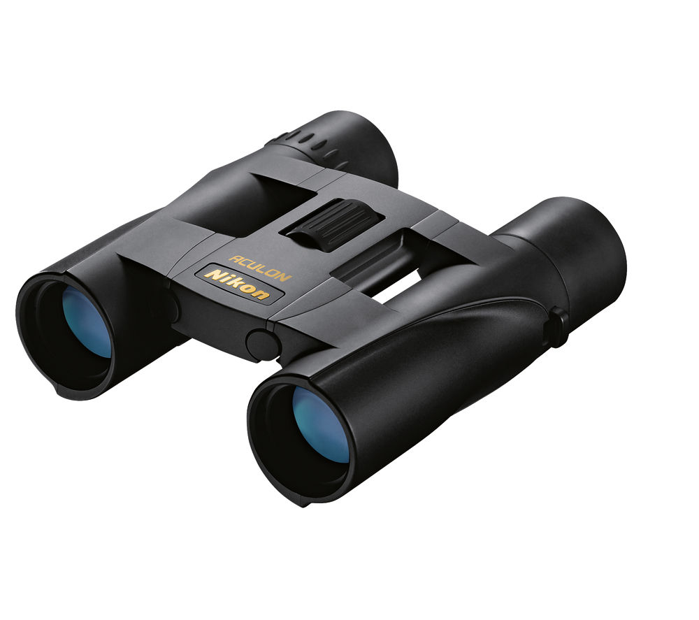 Compare prices for Nikon Aculon A30 10 x 25 mm Roof Prism Binoculars