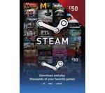 Steam Wallet Card - £50