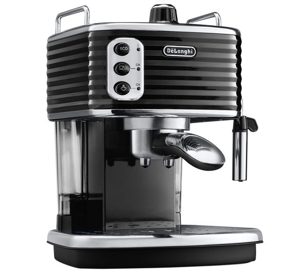buy delonghi scultura ecz351bk coffee machine black free delivery currys. Black Bedroom Furniture Sets. Home Design Ideas