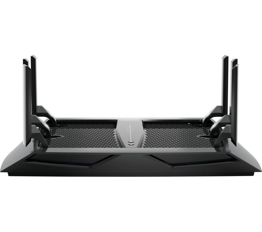 NETGEAR Nighthawk X6 R8000 WiFi Cable & Fibre Router - AC 3200, Tri-band