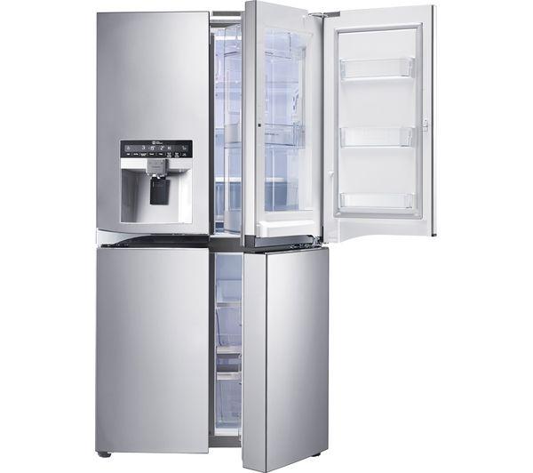 Buy Lg Gmj916nshv American Style Fridge Freezer