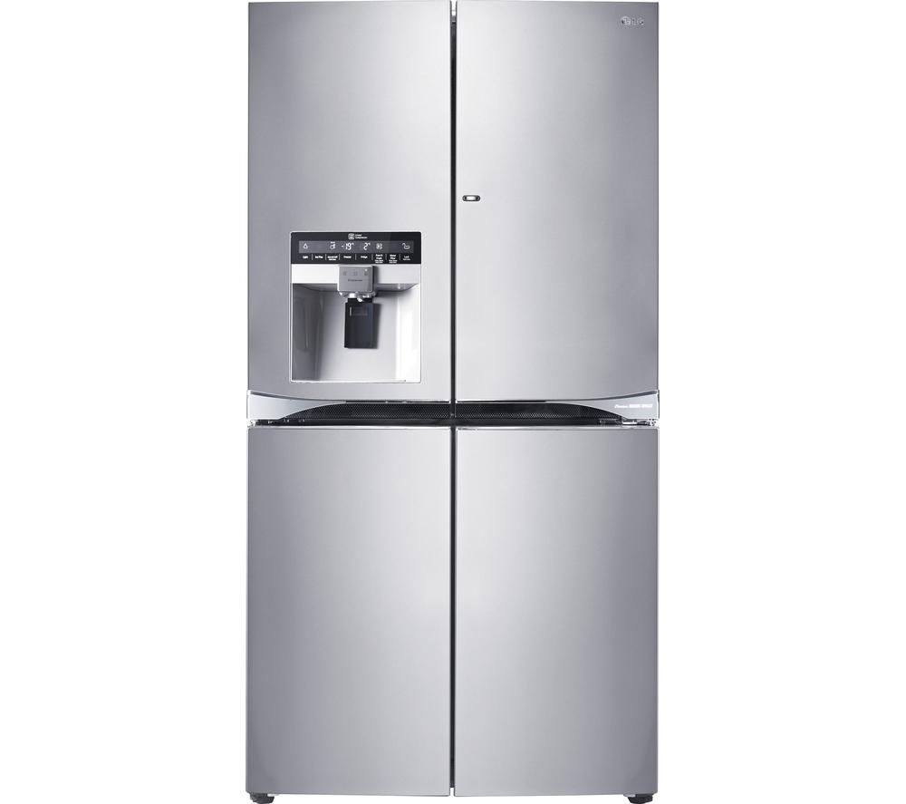 LG GMJ916NSHV American-Style Fridge Freezer - Stainless Steel