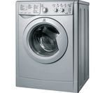 INDESIT Ecotime IWDC 6125S Washer Dryer - Silver